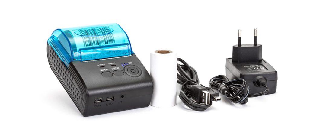 Bluetooth mini tlačiareň